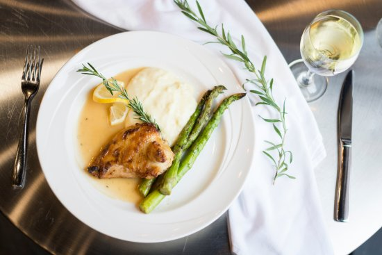 Canonsburg, PA: Our menu changes seasonally. Come in to see what's new. Pictured here: Rosemary Chicken