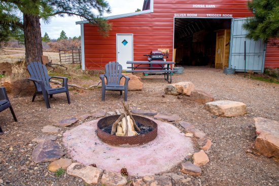 Monticello, UT: outdoor fire pit area