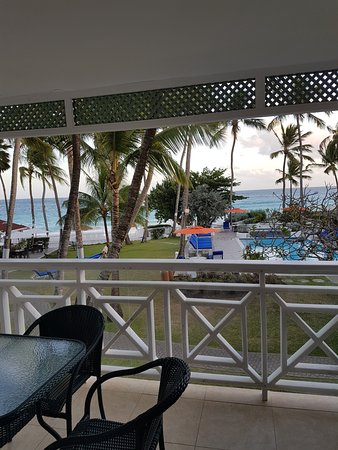 Bougainvillea Beach Resort: The view from my room