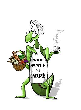 Danville, Καναδάς: Logo du Marché public Mante du Carré