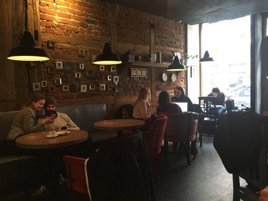 Región de Riga, Letonia: Delicious coffee and cakes!!