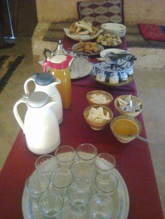 Tafraoute Sidi Ali, Marrocos: breakfast