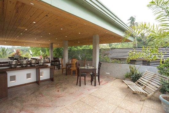 Kundasale, Sri Lanka: Rooftop Restaurant