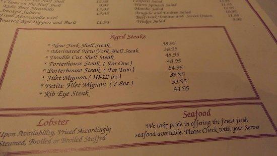 Hauppauge, NY: Steaks