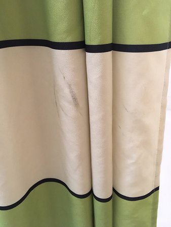 Fairfield Inn and Suites Lake Charles Sulphur: More stains on dirty shower curtain