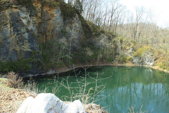 Johnson City, TN: Cranberry Quarry, close to the Rotary Shelter