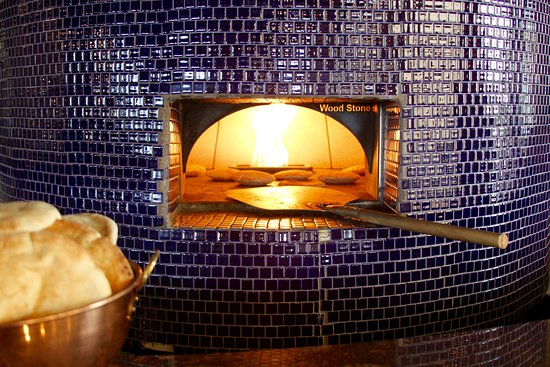 Irving, TX: Fresh pita in the oven!