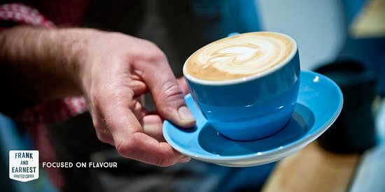 Clare, UK: Crafted Coffee from Frank & Earnest in Bury St Edmunds