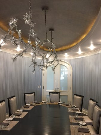 The Ritz-Carlton, Laguna Niguel: Private dining room - ooh la la!