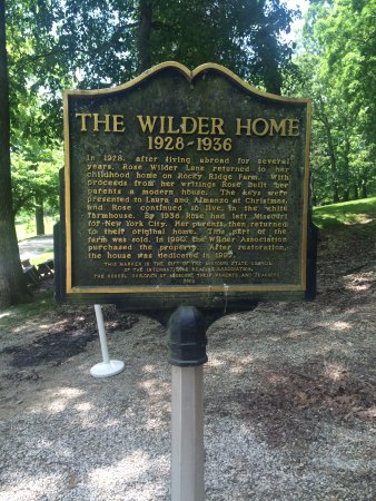 Laura Ingalls Wilder Historic Home and Museum: Wilder Home