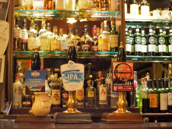 Aberlady, UK: Real Ale at Ducks Inn - Bar   Real Ale Guide 2017