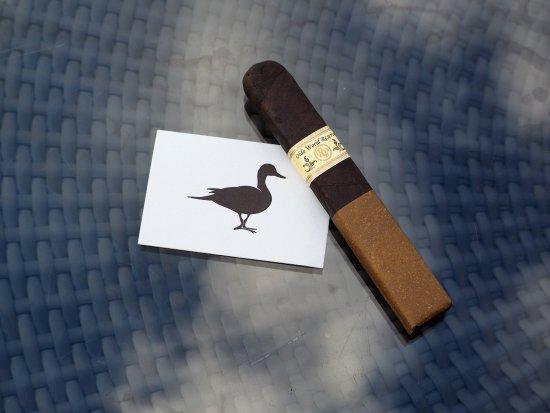 Aberlady, UK: Cigars at Ducks