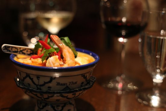 Baan Thai Ballsbridge: Our Popular Tom Yum Soup with Prawns
