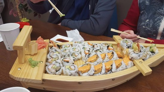 Goderich, Kanada: Great selection of Japanese cuisine