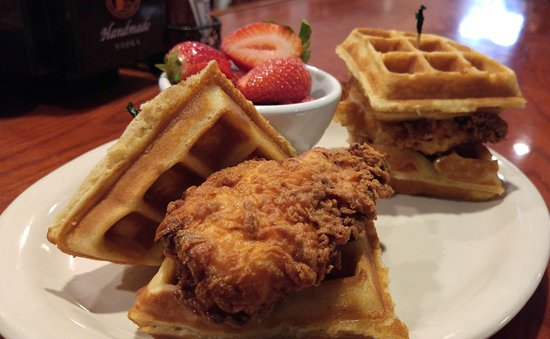 Fairport, NY: Brunch Item - Chicken and Waffles!