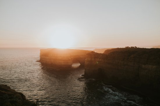 Port Campbell, Australia: Viewpoint from the trail