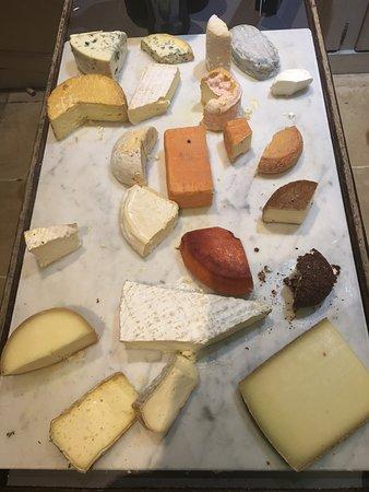 Etoges, Γαλλία: Cheeseboard
