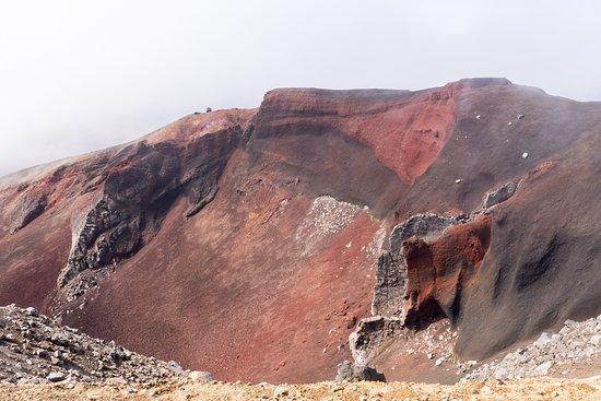 Tongariro National Park, New Zealand: Red Crater