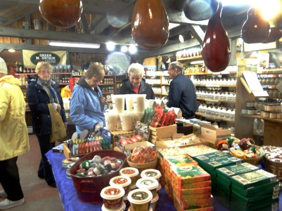 Montpelier, VT: Variety of Vermont Products in side store