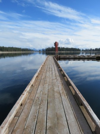 Quadra Island, Canada: View from marina