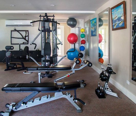 Valentines Resort and Marina: On site Fitness Center