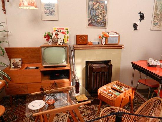 woonkamer jaren 60 foto van museum van de twintigste eeuw hoorn
