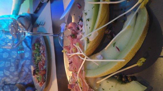 Nieuwerkerk aan den Ijssel, Nederland: Lekker gegeten bij toeval ontdekt.aardige bediening...gezellige muziek..prima visje en meloen me