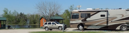 Lake Conroe Thousand Trails, Willis TX. . .we always enjoy our time here in our motorhome.