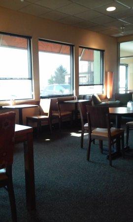 Midland, MI: view of tables