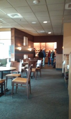 Midland, MI: view of the counter and bakery area
