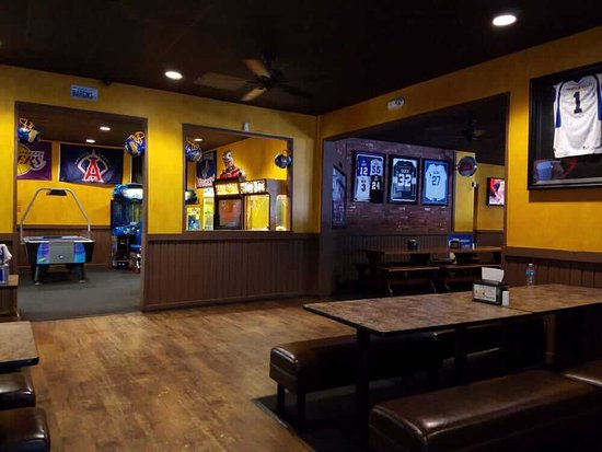 Fountain Valley, CA: game room in our restaurant
