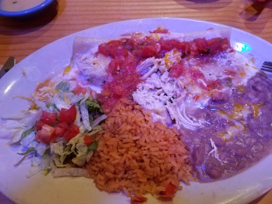 Wichita Falls, Teksas: Enchilada Grande (Chicken)