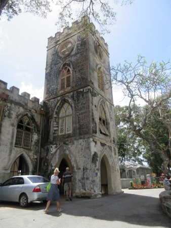 Saint George Parish, Barbados: church stop with restrooms, shop and cold drinks available