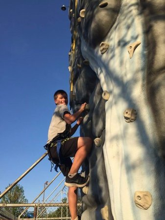 Brainerd, MN: Can you handle the Climbing Wall challenge?