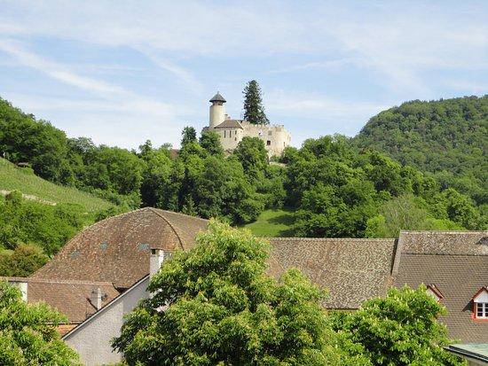 Arlesheim, Suiza: Aussicht auf Burg Birseck
