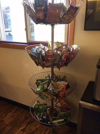 Chamberlain, SD: Organic snacks