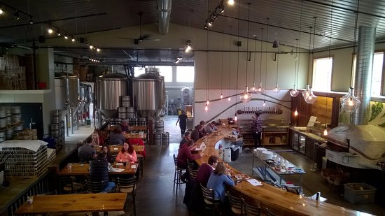 Menomonie, WI: Brewery from second floor