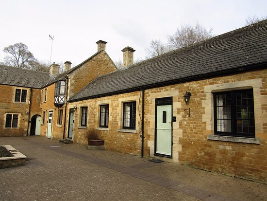 Stow-on-the-Wold, UK: Coach house block