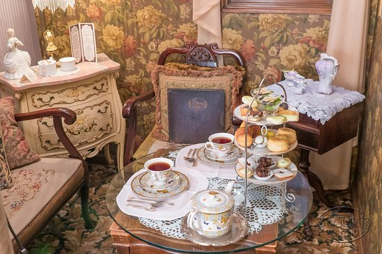 Styles Nook - Picture of The St. James Tearoom, Albuquerque ...