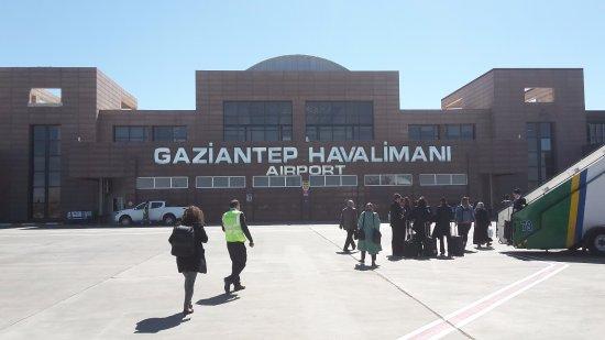 Safir Otel : il mio arrivo a gaziantep( aeroporto)