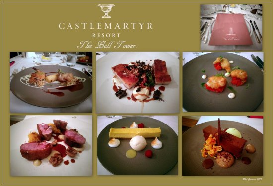 Castlemartyr, İrlanda: The food tastes as good as it looks in the Bell Tower Restaurant