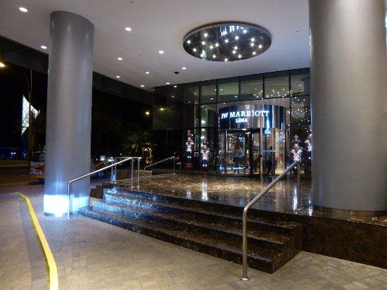 JW Marriott Hotel Lima: Entrance