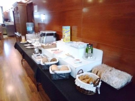 Alcudia, إسبانيا: Bufet desayuno