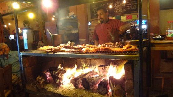 San Francisco, Mexico: Fresh food barbecued to order.