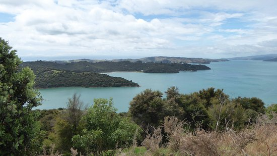 Waiheke Island, New Zealand: View from the ridge