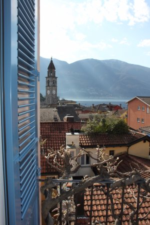 Art Hotel Riposo: The view from our balcony