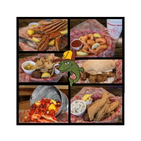 Conway, AR: So many options--may I suggest the fresh catfish, a po'boy, or crab legs, or shrimp...