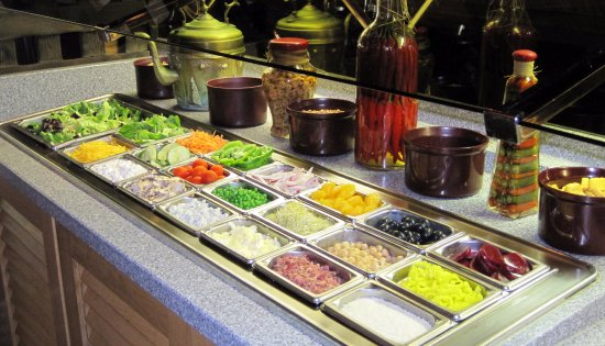 Kalamazoo, MI: Salad Bar