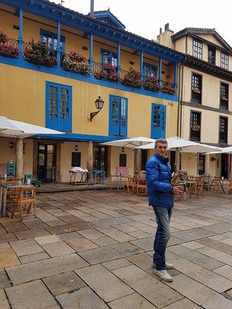Plaza del Fontán: Vista de parte de la plaza
