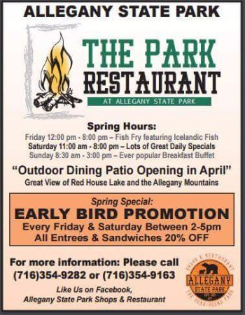 Salamanca, NY: Our Spring/2017 Newpaper Ad!!  Hours will be extended in May